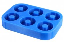 Ring Blank Silicone Mold - 6 Rings