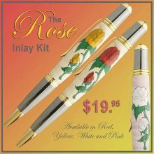 Rose Laser Inlay Kit - Sierra - Please Choose Color