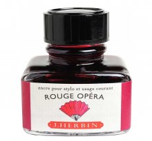 Rouge Opera J. Herbin Bottled Ink (30ml)