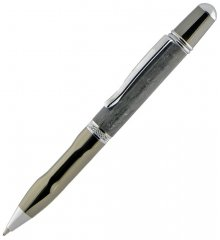 Sierra Ergonomic Pen Kits - Gunmetal & Chrome