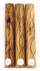 Segmented Serpentine Pen Blanks - Yew #24-26C