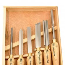 Benjamins Best HSS Lathe Chisel Turning Set - 6 Piece Set