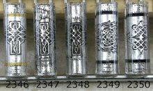 Mik's Celtic & Cross Pen Blanks - Sierra #2346-2350