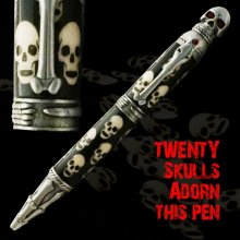 20 Skulls Laser Inlay Kit - Skull Twist Pen Kit