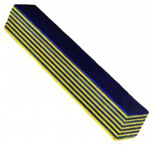 SpectraPly Pen Blank - #360 Fighting Irish