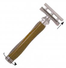 Speed Dial Safety Razor Kit - Chrome (PSI)