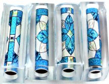 Stained Glass Pen Blank #5 - Sierra/Virage