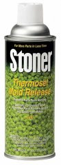 Stoner Thermoset Mold Release (For Polyester and Epoxy Resins) - 12 oz