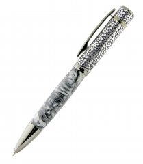 Tanzo Ballpoint Pen Kit - Chrome & Gun Metal