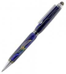 Tetra Stylus Pen Kit - Chrome with Gunmetal Accents