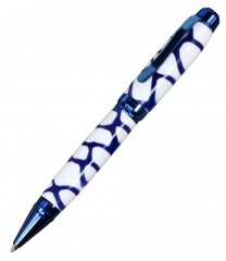 Cigar Pen Kit - Blue Titanium