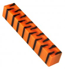 Tiger Pen Blanks - Orange Pearl & Black