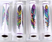 Tribal Feather Pen Blank - Sierra/Virage