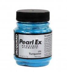Pearl Ex Powdered Pigments .50 oz - Turquoise