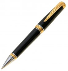 Ultra Cigar Pen Kit - Upgrade Gold & Chrome (Chrome Nib)