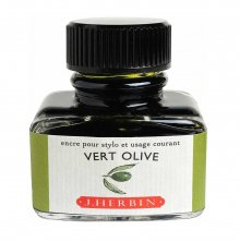 Vert Olive J. Herbin Bottled Ink (30ml)