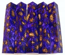 Mini Pine Cone Pen Blanks - Violet