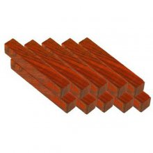 Cocobolo Pen Blanks 3/4 x 5 - 10 Pack