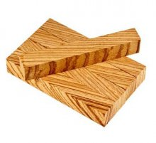 Zebrawood Pen Blanks (X-Cut) - 5 Pack