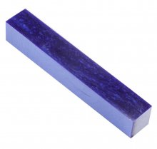 Kirinite Pen Blank - Deep Blue Ice