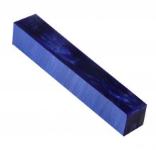 Kirinite Pen Blank - Deep Blue Pearl