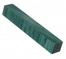 Color Grain Pen Blank - Sea Green Jumbo (3/4 in. x 5 in.)