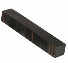 Color Grain Pen Blank - Timber Black Jumbo (3/4 in. x 5 in.)