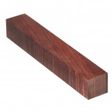 Color Grain Pen Blank - Reddish Brown Jumbo (3/4 in. x 5 in.)