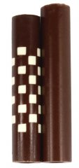 Weave Squeeze 360 Rotacrylic Pen Blank - White Brown & Brown