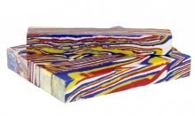 Primary Colors Faux-Stone Pen Blanks