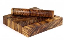 Terry's Zebrawood Pen Blanks - Cross Cut & Stabilized