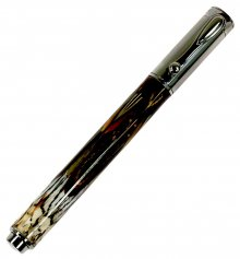 Zen Rollerball Pen Kit - Black Ti