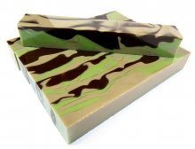 Desert Camo Acrylic Pen Blanks. Group.