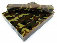 Jungle Camo Acrylic Pen Blank AA-64