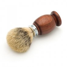 Premium Badger Shaving Brush Kit - Chrome