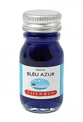 Bleu Azur J. Herbin Bottled Ink - Mini (10ml)