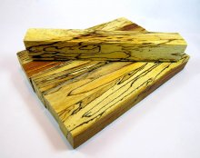 Spalted Beech Pen Blanks - Straight Cut