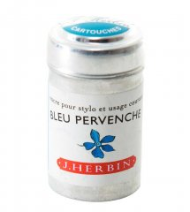 Bleu Pervenche J. Herbin Cartridges - Tin of 6