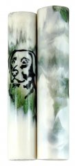 Pets on Parade Rotacrylic pen blank - Black Lab