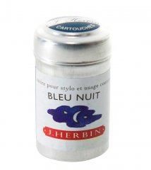 Bleu Nuit J. Herbin Cartridges - Tin of 6