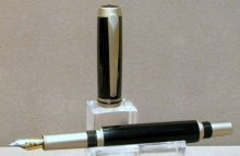 Baron Fountain Pen Kit - Satin Nickle