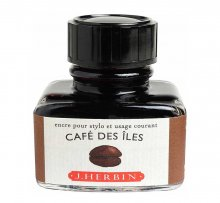 Cafe Des Iles J. Herbin Bottled Ink (30ml)