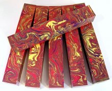 Color Explosion Pen Blanks #18 - Painted Desert