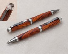 Cigar Hybrid Pen Kit - Chrome & Satin Chrome