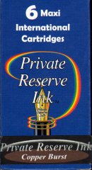 Private Reserve Maxi Ink Cartridges - Copper Burst