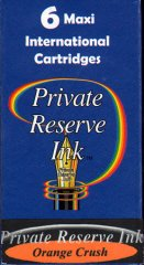 Private Reserve Maxi Ink Cartridges - Orange Crush