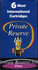 Private Reserve Maxi Ink Cartridges - Plum