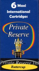 Private Reserve Maxi Ink Cartridges - Buttercup