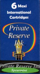 Private Reserve Maxi Ink Cartridges - Spearmint