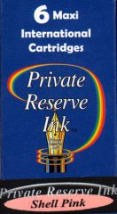 Private Reserve Maxi Ink Cartridges - Shell Pink